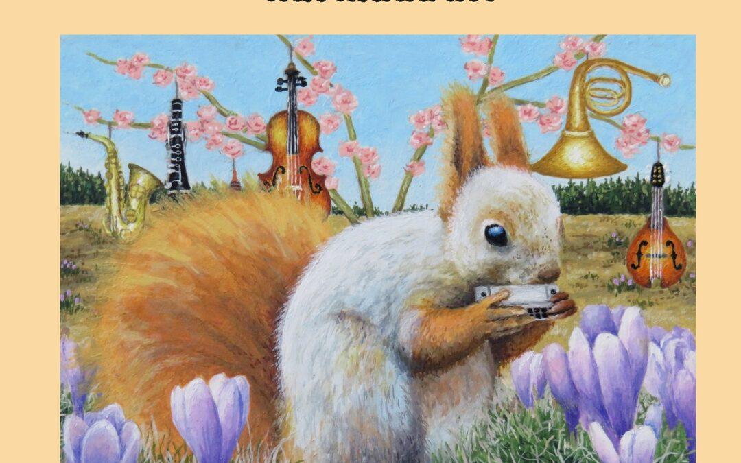 """Värviraamat """"Musikaalsed loomad"""""""
