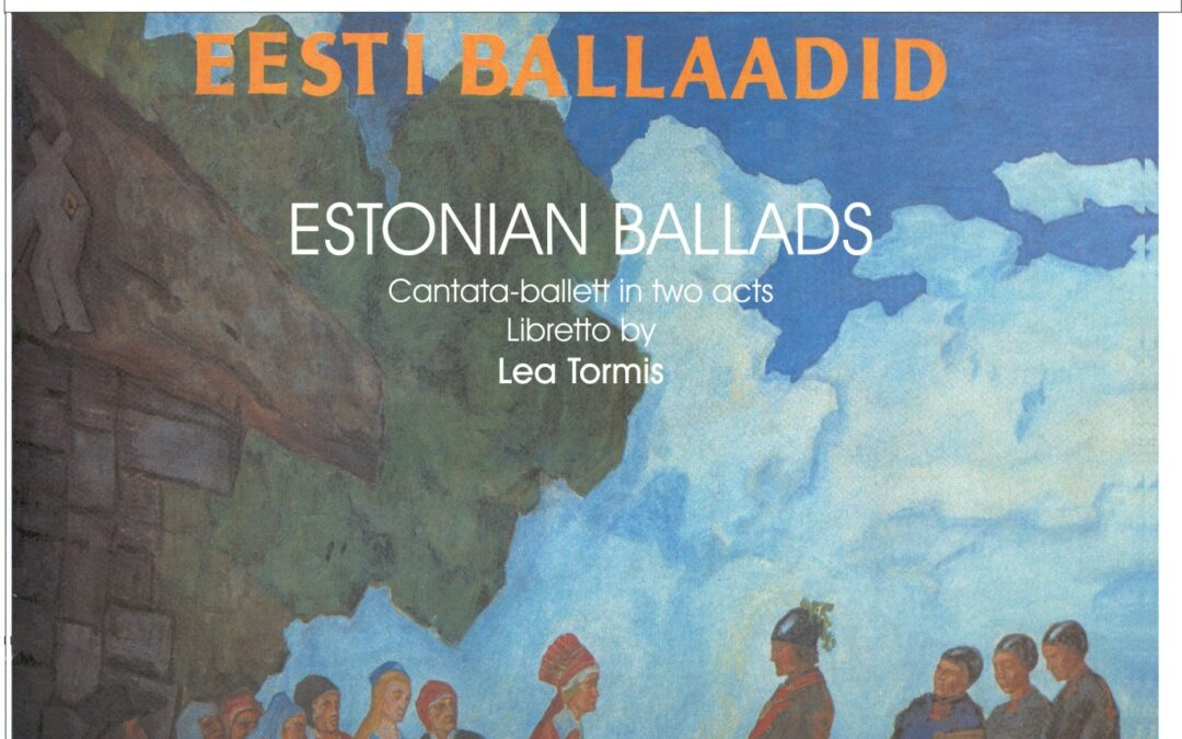 Estonian Ballad's / Full score