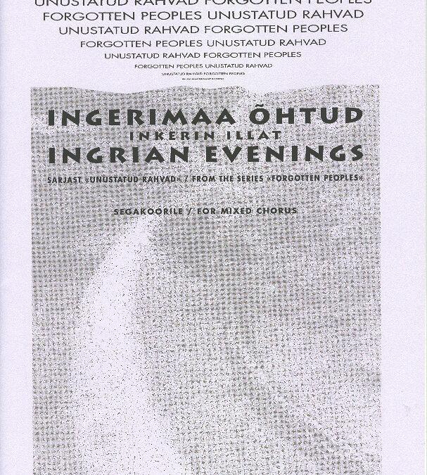 Ingerimaa õhtud / Ingrian Evenings