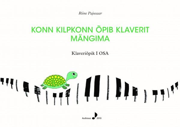 Konn Kilpkonn õpib klaverit mängima. Piano teaching book I