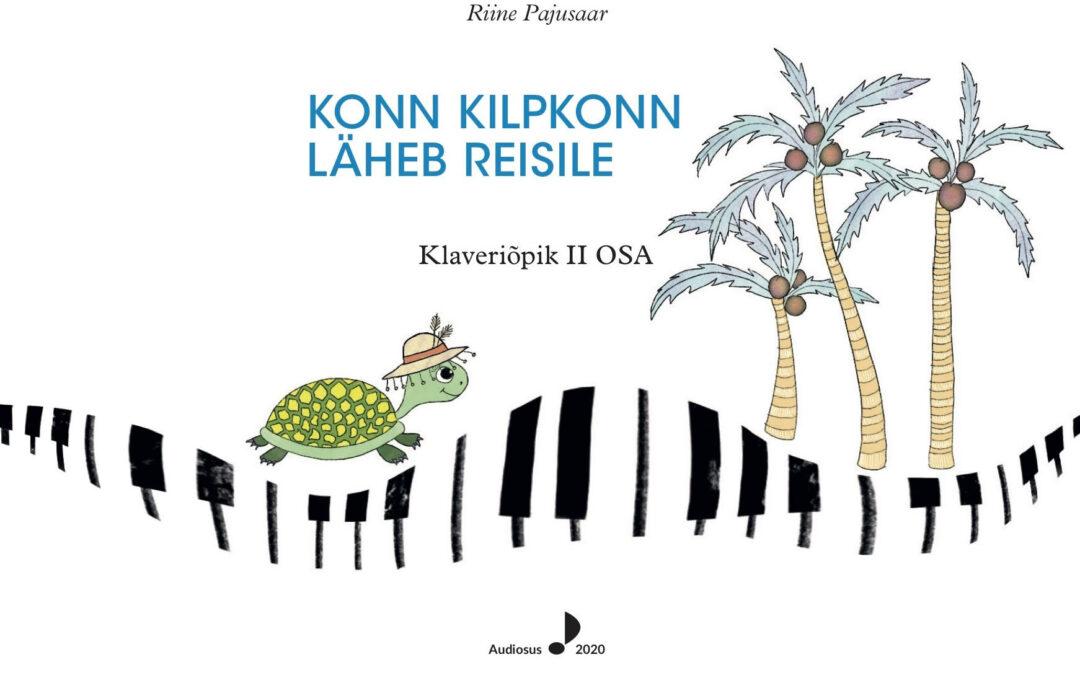 Konn Kilpkonn õpib klaverit mängima. Piano teaching book II