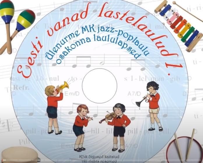 Eesti vanad lastelaulud CD-d (4tk)