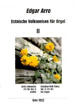 Estonian Folk Tunes for organ II