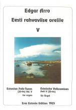 Estonian Folk Tunes for organ V